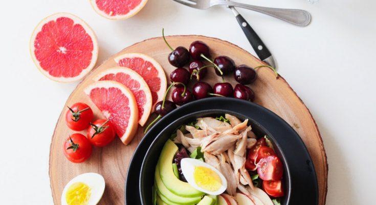 fit met gezonde voeding